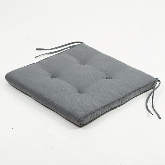 Sessel-Auflage, grau