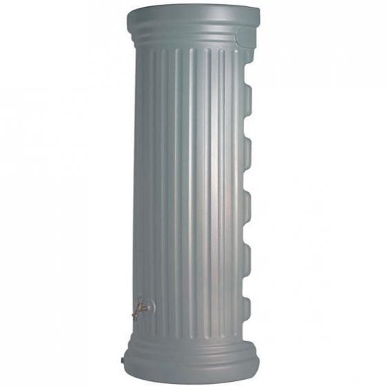 Regenwassertank Säule 550 Liter, hellgrau