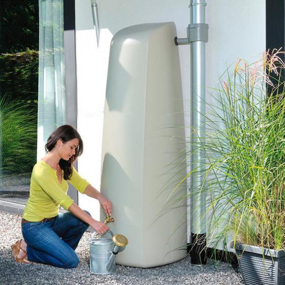 GARANTIA Regenwassertank Elegance 400 Liter, sandbeige