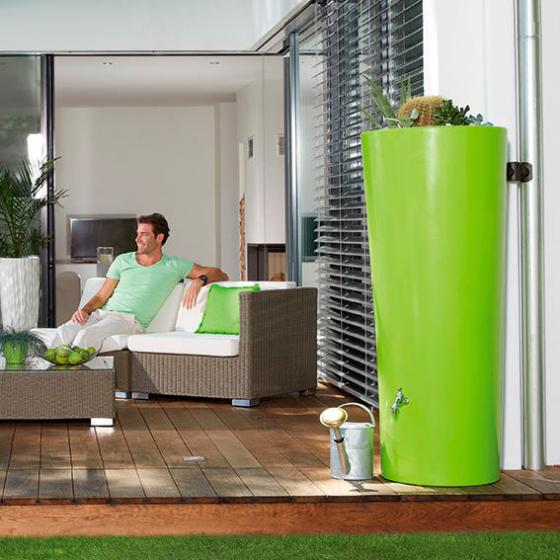 Regenwassertank 2 in 1, grün