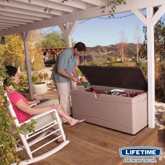 Lifetime Kissenbox XXL 495 Liter