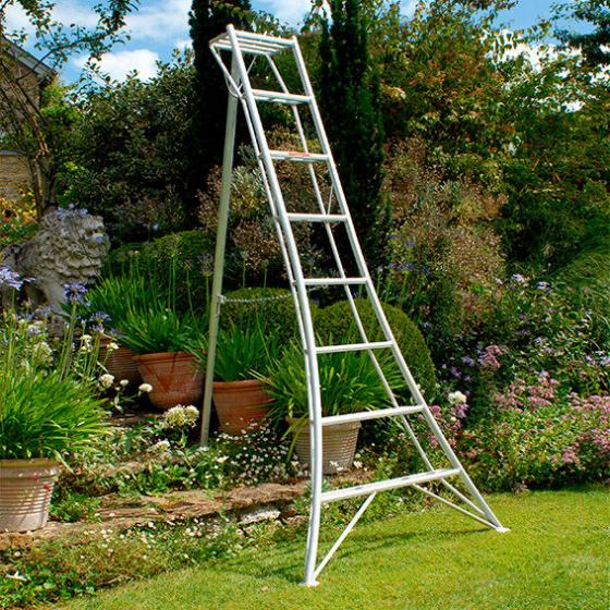 NIWAKI 3-Holm-Gartenleiter 180 cm