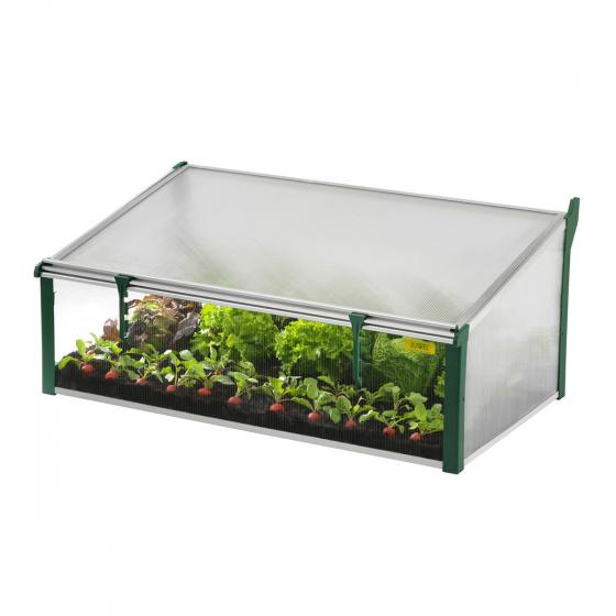 Komfort-Frühbeet Easy Fix, Kunststoff, transparent, 100x60x40/30 cm