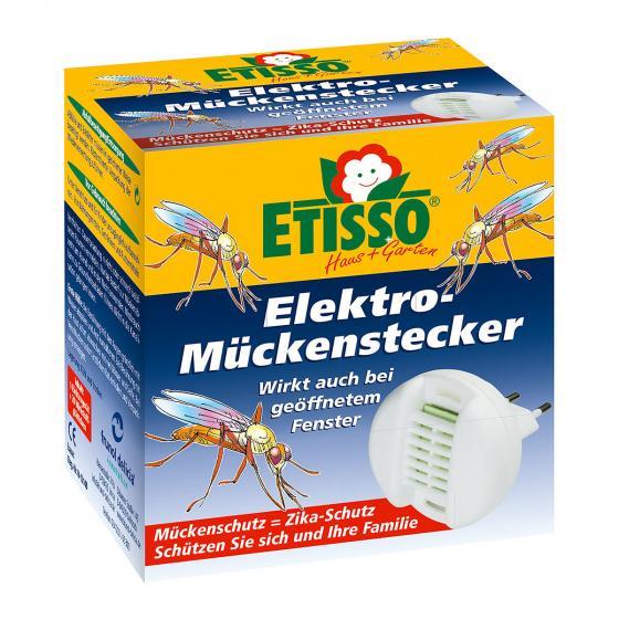 Etisso Elektro-Mückenstecker, 1 Gerät + 20 Plättchen