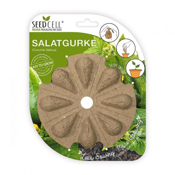 Seedcell Freiland-Salatgurke, 8 Seedcells