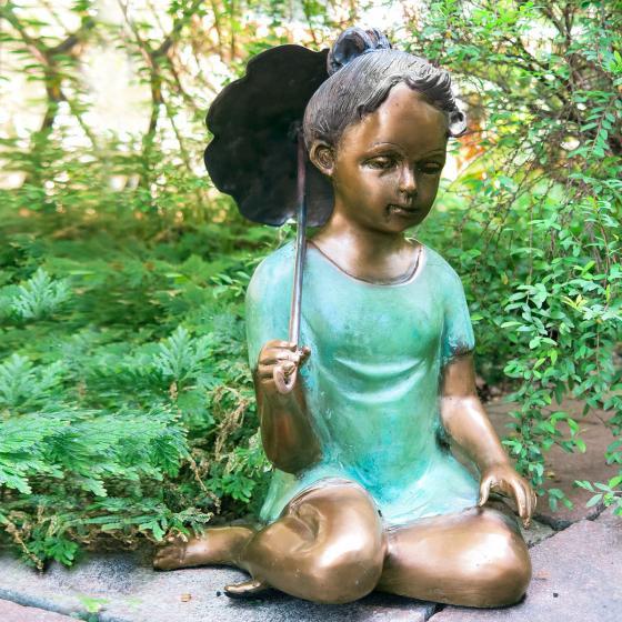Bronzefigur Friederike