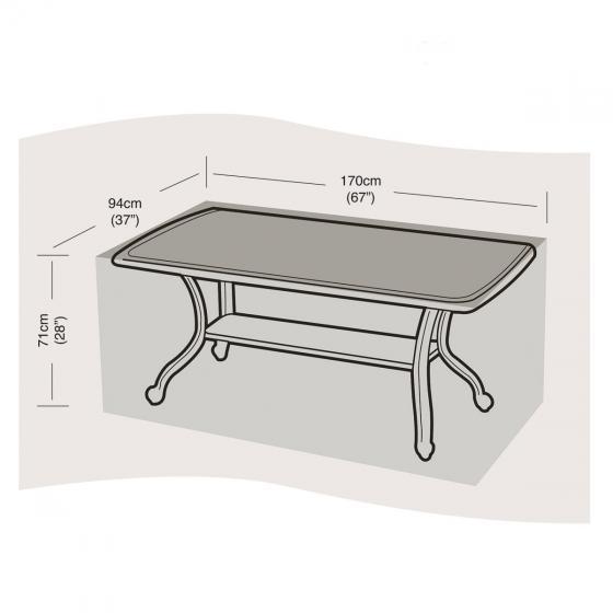 Schutzhülle für Tisch groß, eckig