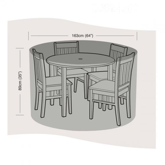 Schutzhülle für Sitzgruppe klein, rund
