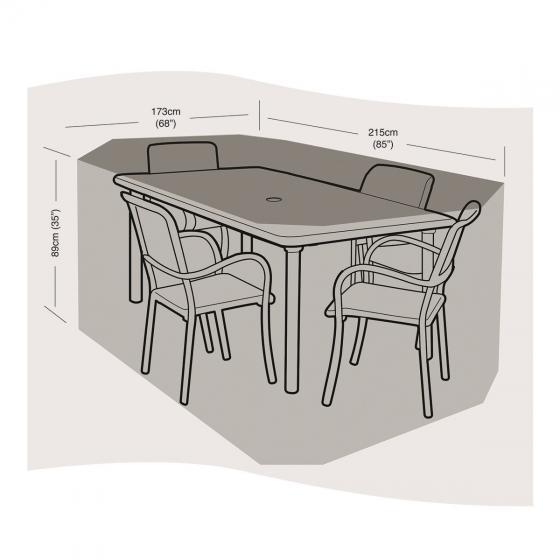 Schutzhülle für Sitzgruppe klein, rechteckig