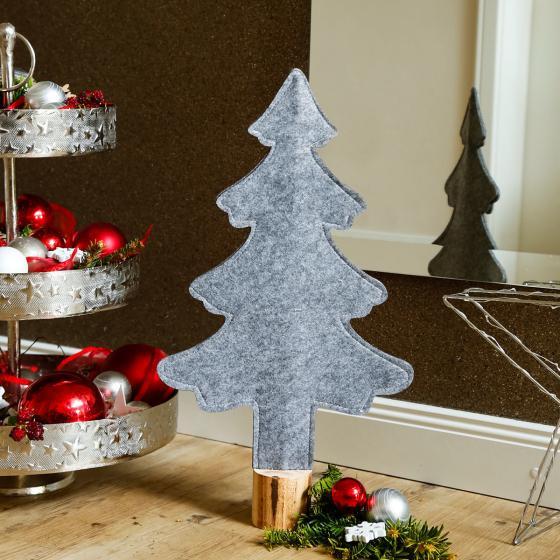 Filz-Weihnachtsbaum Winter Time, klein