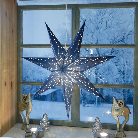 Leuchtstern Sternenhimmel