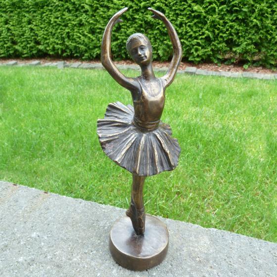 Bronze-Figur Primaballerina