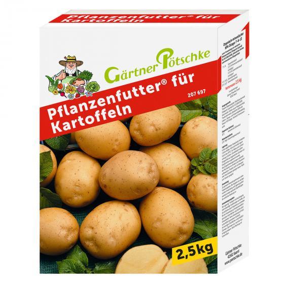 Pflanzenfutter für Kartoffeln, 2,5 kg