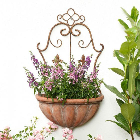 Wandpflanztopf newport von g rtner p tschke for Pflanzen wandhalter