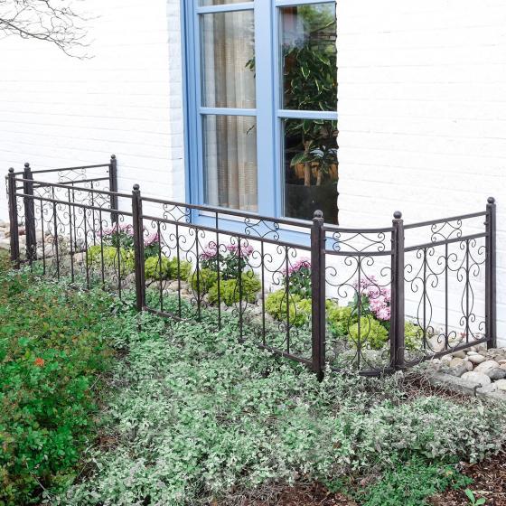 Set Gartenzaun Country Garden
