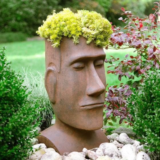 Pflanzkopf Moai
