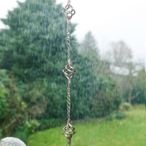 Regenkette Tropfentanz