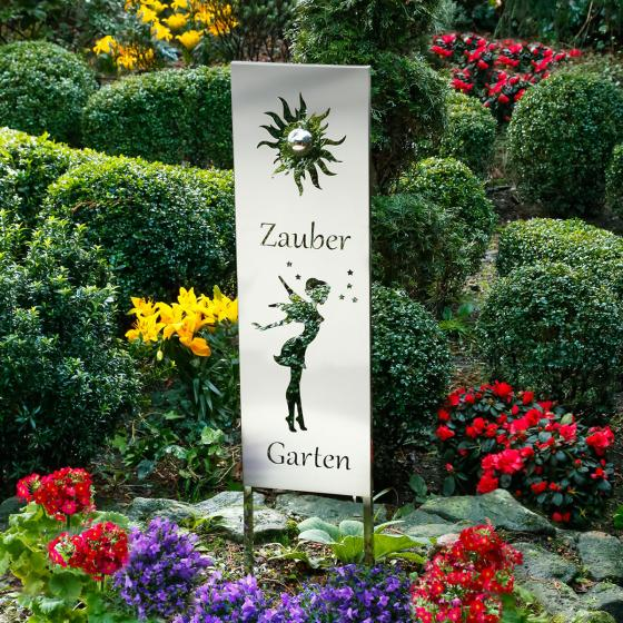Gartenstecker Zaubergarten