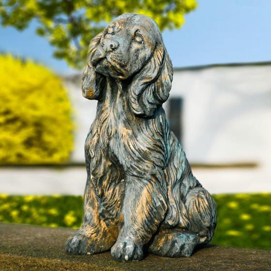 Gartenfigur Hund Bobby