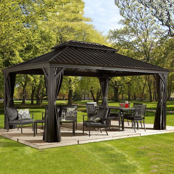 Pavillon Messina 12x16, 363x483x307 cm