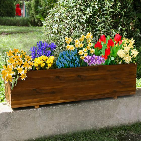 Balkon-Tray Bunte Frühlingspracht