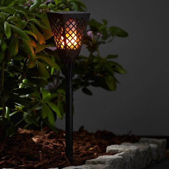 LED-Solarfackel Flame