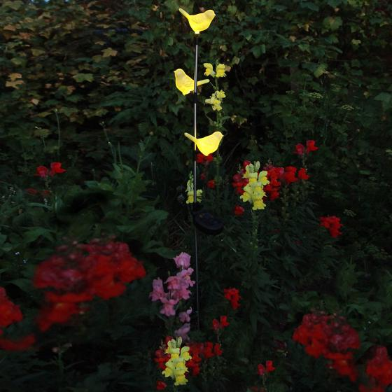 LED-Solargartenstab Tweety