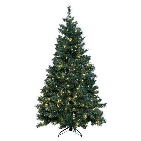 Star LED-Außen-Weihnachtsbaum Grüne Pracht, 180x100x100 cm, Kunststoff, grün