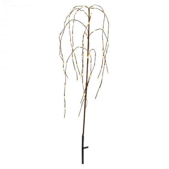 Star LED-Baum Winterweide, 110x40x40 cm, Metall und Kunststoff, braun