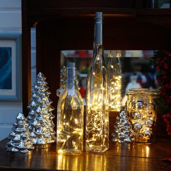 Micro-LED-Lichterkette Flaschenlicht