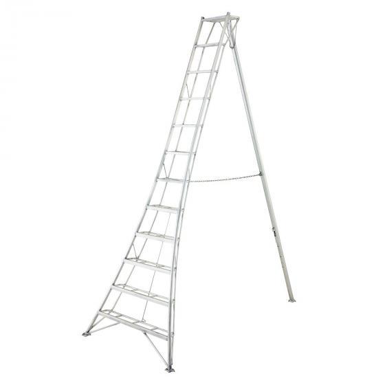 NIWAKI 3-Holm-Gartenleiter 360 cm