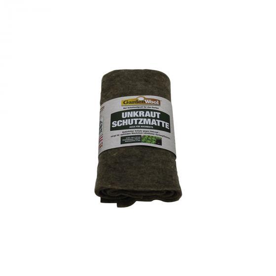 Unkrautschutzmatte für Gemüsebeete aus Schafwolle