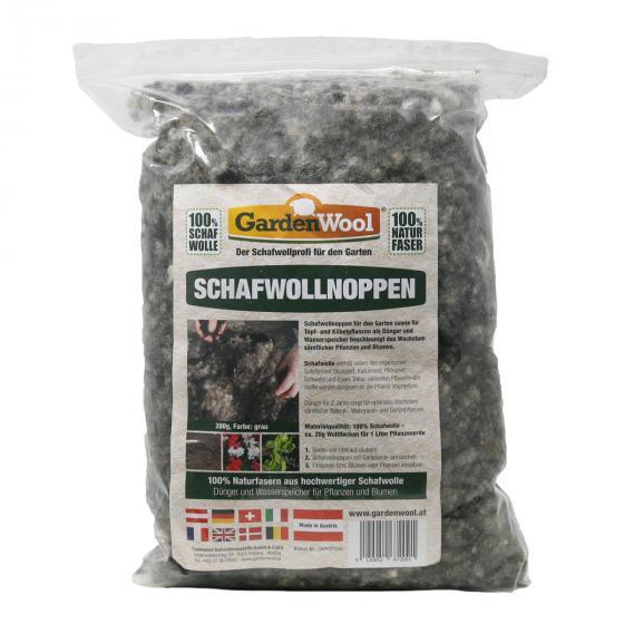 Schafwollnoppen, 200 gr.