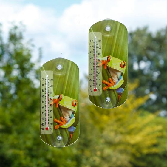 Thermometer Set Froggy, 20x9 cm
