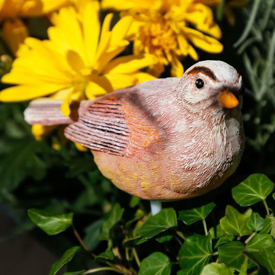 Feuchtigkeitsmesser Birdy, 17x11x4,5 cm, Polyresin