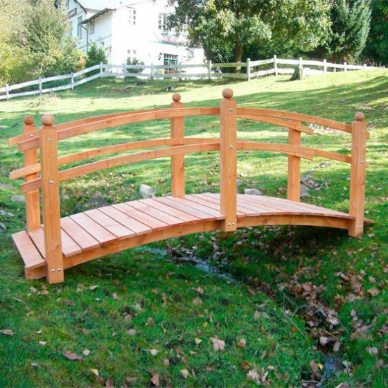 Gartenbrücke Tanja