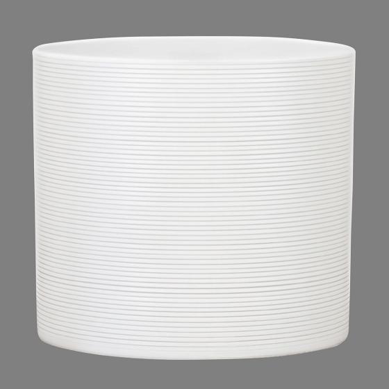 Scheurich Keramik-Übertopf, rund, 17,1x19x19 cm, Panna