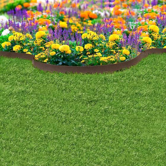 Rasenkante Klassik 610 cm, braun