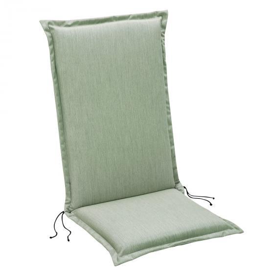 Premium-Auflage Hochlehner Madrid, 120x50 cm, grün