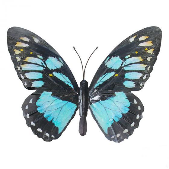 Tierfigur Schmetterling Cosmé 35x25 cm, Metall