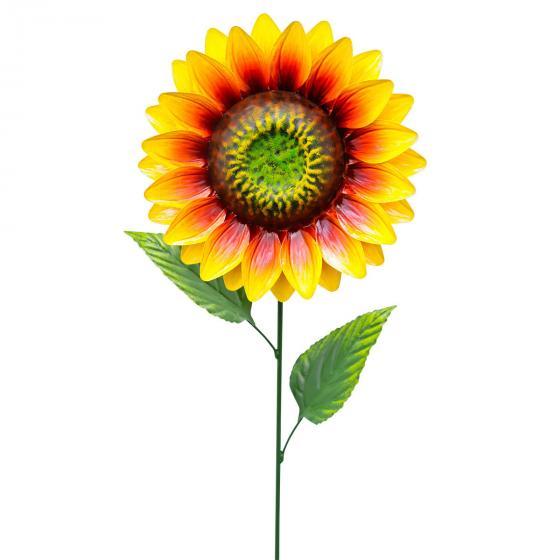 Gartenstecker Sonnenblume Sun 83x23x8 cm, Metall