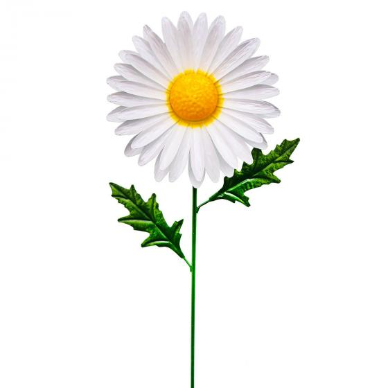 Gartenstecker Gänseblümchen Daisy 85x19x10 cm, Metall