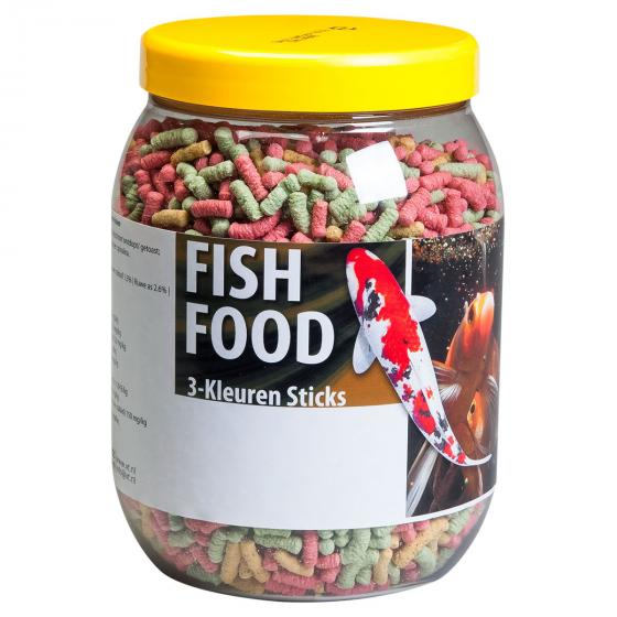 Fischfutter Sticks, 1,5 l