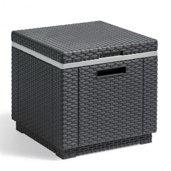 Best Kühlbox Malta, 38x42x42 cm, grau