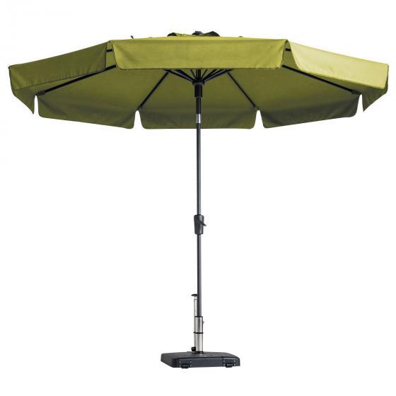 Sonnenschirm Flores Luxe 300 cm, rund, grün