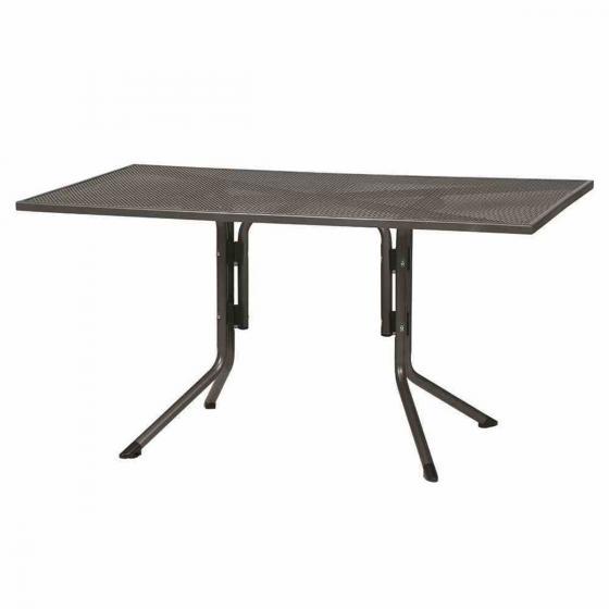 Elda Plus Tisch, 140x90x71 cm, Stahl