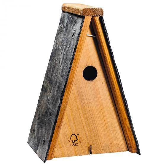 Nistkasten Miami, 19 x 16 x 30 cm, Holz, braun