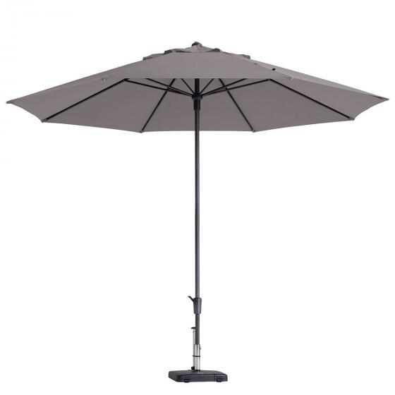 Sonnenschirm timor luxe, Durchmesser 400 cm, taupe
