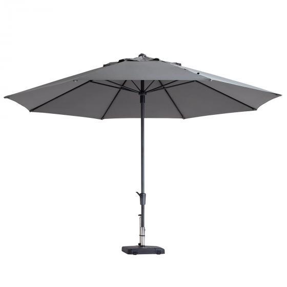 Sonnenschirm timor luxe, Durchmesser 400 cm, hellgrau