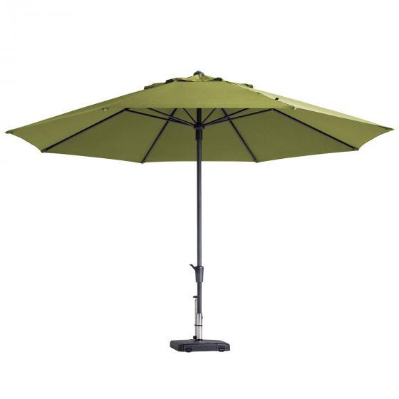 Sonnenschirm Parasol timor luxe, Durchmesser 400 cm, oliv